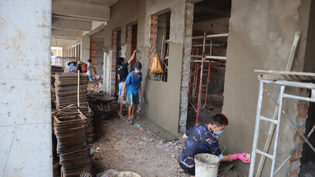 Bình Phước: Công trình xây dựng tập trung 78 lao động vi phạm Chỉ thị 16 - ảnh 1