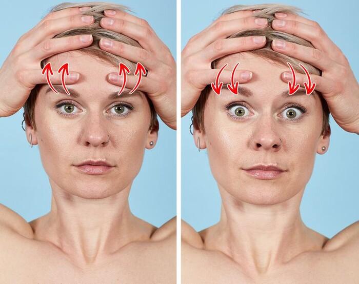 7 bài tập thể dục cho mặt giúp loại bỏ nếp nhăn trong 10 phút
