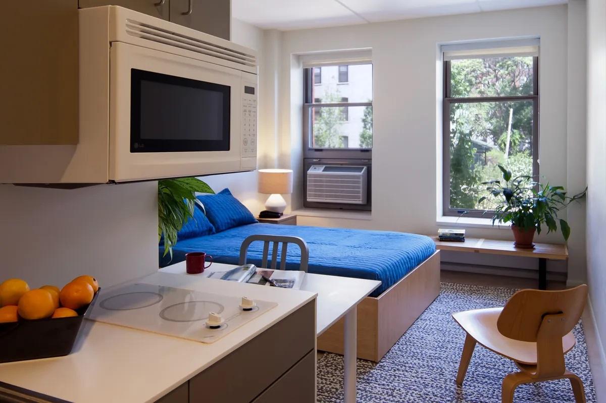 Căn hộ siêu nhỏ giúp giải quyết khủng hoảng nhà ở tại New York