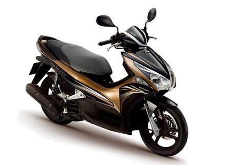 Honda ra phiên bản xe máy mới cho năm 2012