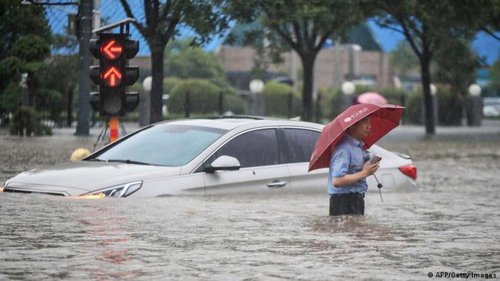 Chùm ảnh thời tiết cực đoan gây sốc trên toàn thế giới