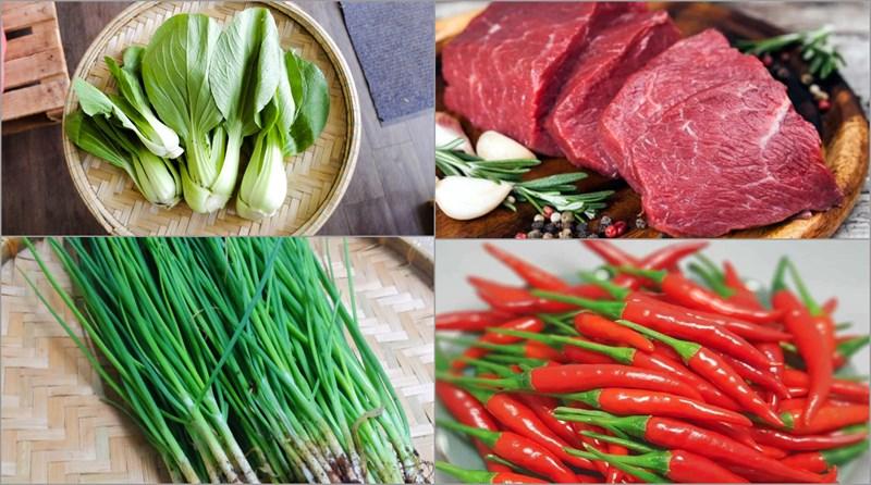 Cách làm cải thìa xào thịt bò thơm ngon lạ miệng hấp dẫn ăn hoài không ngán - ảnh 1