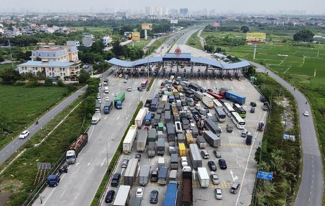 Xe chở hàng hóa muốn đi qua hoặc vào Hà Nội di chuyển như thế nào? - ảnh 1