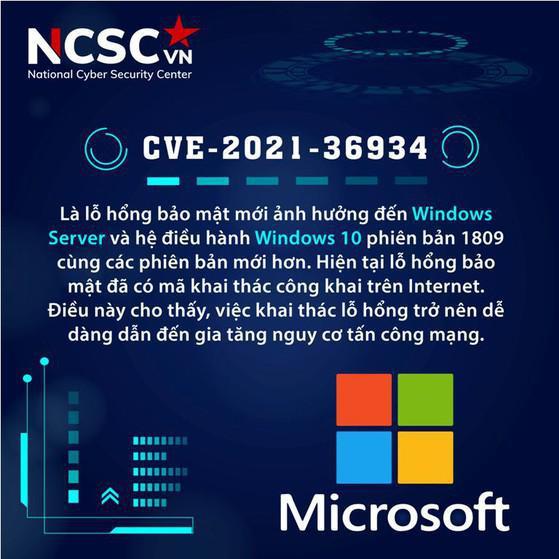 Phát hiện lỗ hổng bảo mật trên Windows 10, mã khai thác công khai trên internet - ảnh 1