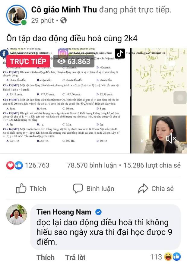 Chủ tịch FPT vào xem cô giáo Minh Thu livestream, để lại nhận xét về hiện tượng này cực thấm thía - ảnh 1