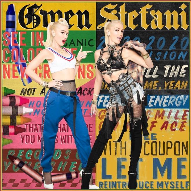 Gwen Stefani chọn tạo hình nổi loạn cho đĩa đơn mới - ảnh 1