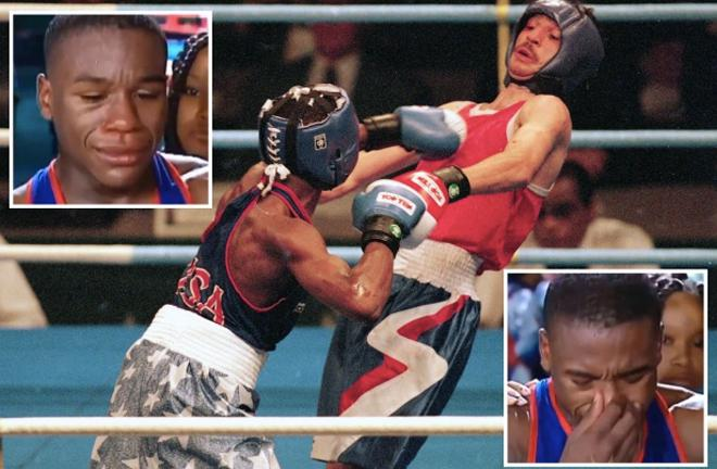 Võ sĩ đánh Mayweather bật khóc ở Olympic, sau trận đi làm thuê cả đời - ảnh 1