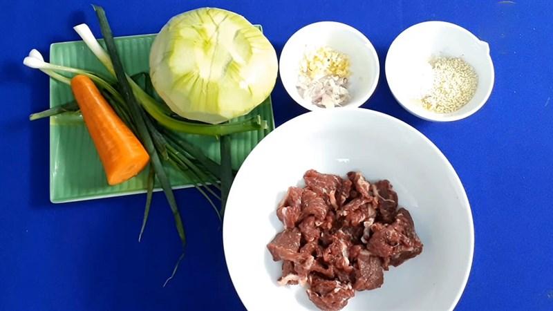 Cách làm su hào xào bò đơn giản dễ làm dễ ăn ai cũng mê - ảnh 1