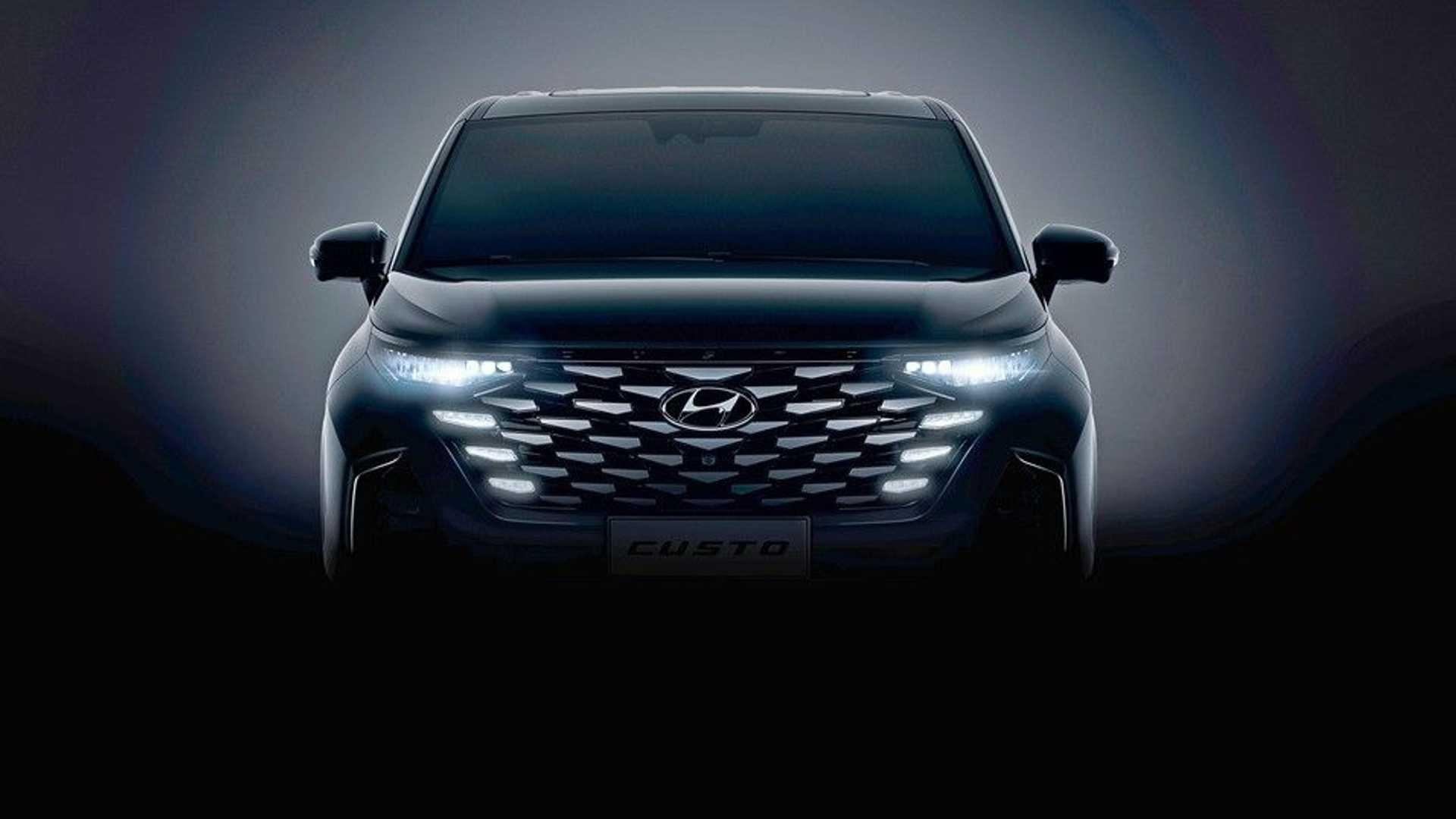 Lộ diện thiết kế nội thất mẫu MPV Hyundai Custo