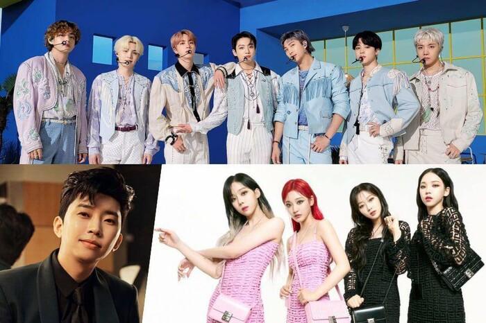 BXH thương hiệu ca sĩ Kpop tháng 7/2021: BTS không thay đổi, aespa tiếp tục bùng nổ - ảnh 1
