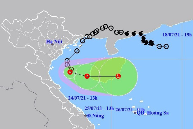 Áp thấp nhiệt đới đi ra ngoài, nhiều nơi trên đất liền vẫn mưa rất to - ảnh 1