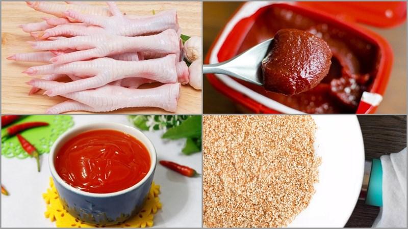Cách làm chân gà rút xương sốt cay hao cơm, ăn là ghiền - ảnh 1