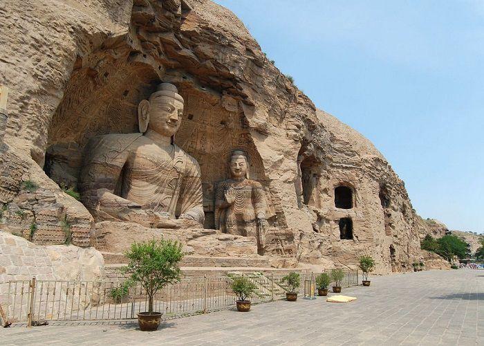 Hang đá Vân Cương, hang động hàng ngàn năm tuổi lưu giữ hơn 50.000 tượng Phật của Trung Quốc - ảnh 1