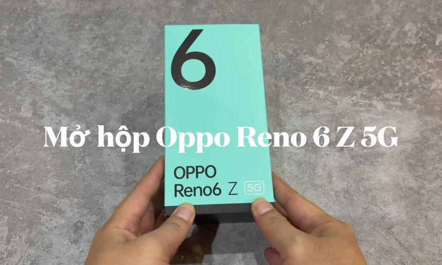 Mở hộp Oppo Reno6 Z giá 9,49 triệu đồng - ảnh 1