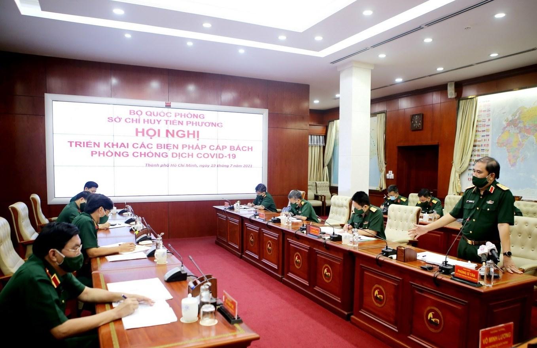 Đề nghị bổ sung 2 Tư lệnh tham gia Sở Chỉ huy tiền phương Bộ Quốc phòng