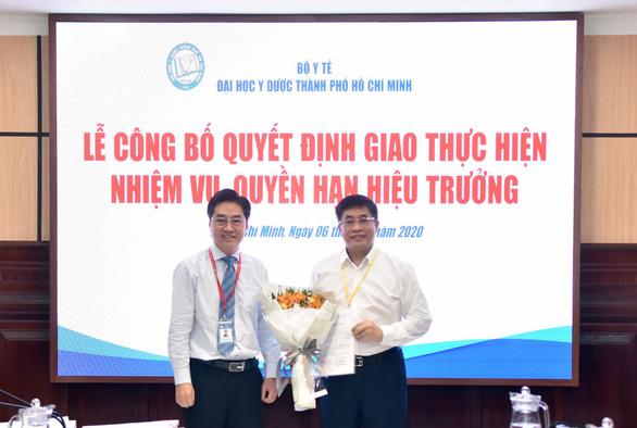 PGS.TS Nguyễn Hoàng Bắc làm quyền hiệu trưởng ĐH Y dược TP.HCM - ảnh 1