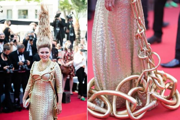 [ẢNH] 'Nhức mắt' với loạt thảm họa thời trang thảm đỏ Cannes 2021