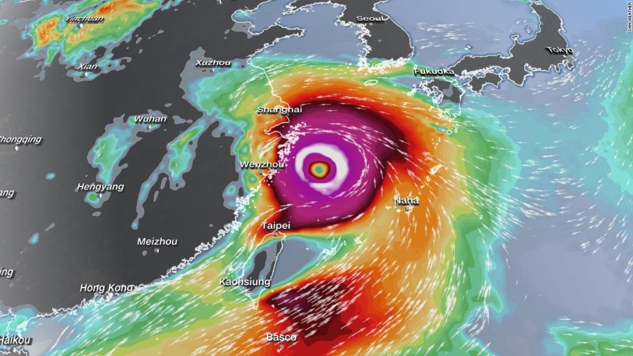 Bão sức gió gần 200 km/giờ sắp đổ bộ, Trung Quốc phản ứng khẩn - ảnh 1