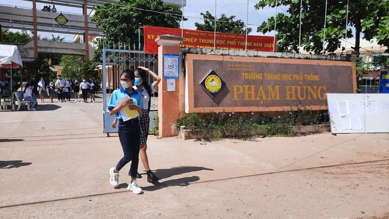 Vĩnh Long đề nghị xét đặc cách tốt nghiệp THPT cho 161 thí sinh - ảnh 1