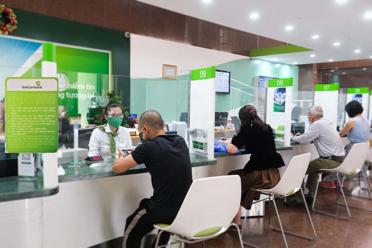 Vietcombank giảm lãi suất hỗ trợ khách hàng bị ảnh hưởng bởi dịch COVID-19