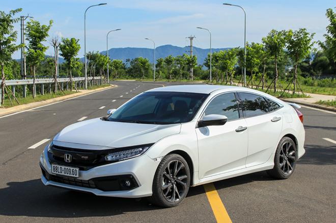 Giá xe Honda Civic lăn bánh tháng 7/2021 - ảnh 1