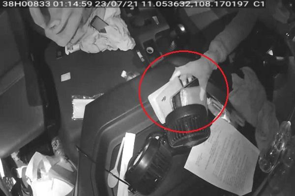 Tài xế Hà Tĩnh chở hàng quyên góp hỗ trợ miền Nam bị kẻ gian lấy cắp tài sản - ảnh 1