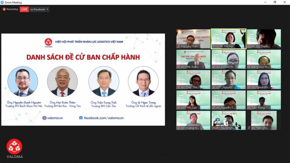 Hiệp hội Phát triển nhân lực Logistics Việt Nam lần đầu tổ chức Đại hội - ảnh 1