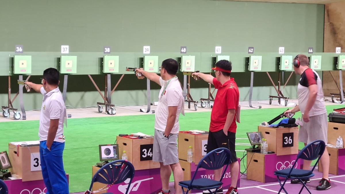 Xạ thủ Hoàng Xuân Vinh không bảo vệ được HCV Olympic - ảnh 1