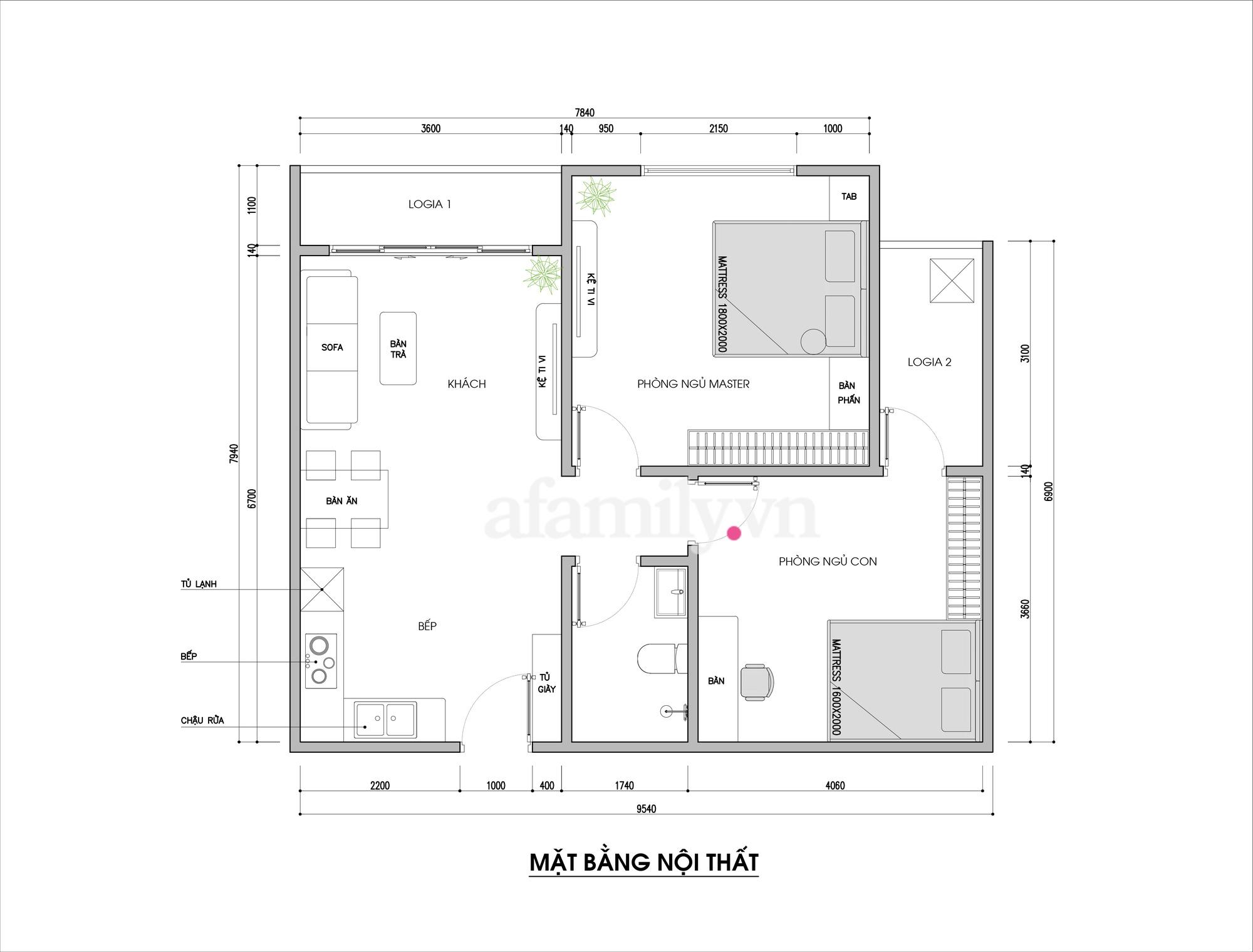 Tư vấn thiết kế căn hộ 69m² với phong cách tối giản trong khoảng chi phí 170 triệu đồng - ảnh 1