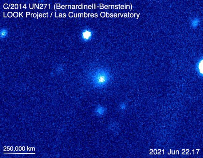 Đến gần chúng ta, siêu sao chổi to bằng 1000 lần đồng loại sống dậy - ảnh 1