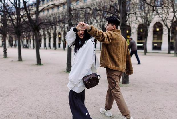 Châu Bùi bỗng nhớ kỷ niệm ở Paris và ổ khoá tình yêu, dân tình gọi tên Decao giữa ồn ào ''bồ cũ rapper số 1 lộ ảnh nóng'' - ảnh 1