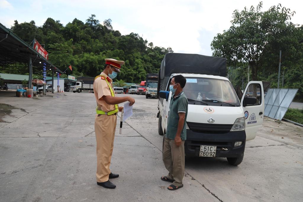 Công bố luồng xanh vận tải trên địa bàn tỉnh Lâm Đồng - ảnh 1