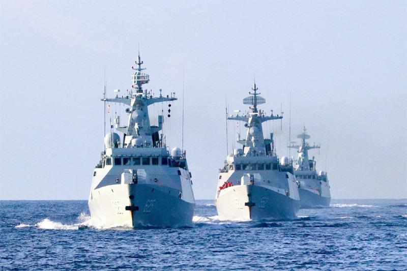 Đàm phán thất bại với Mỹ, Trung Quốc tuyên bố tập trận ở Biển Đông