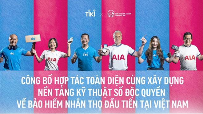 AIA Việt Nam và Tập đoàn Tiki công bố hợp tác toàn diện