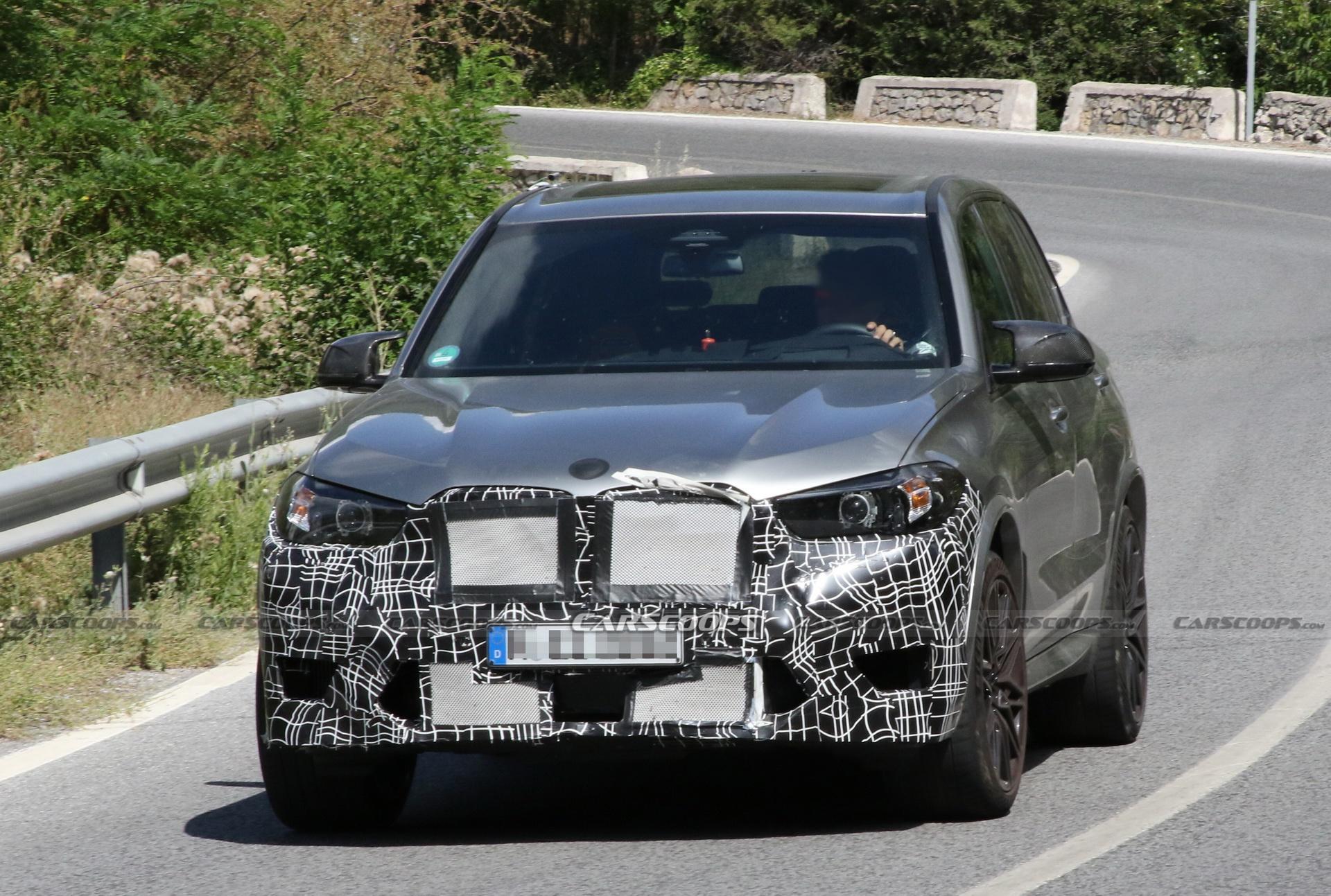 BMW X5 M phiên bản mới lộ diện