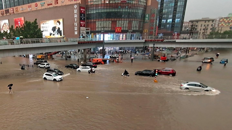 Thiếu Lâm Tự đóng cửa do mưa lớn liên tục ở Trung Quốc