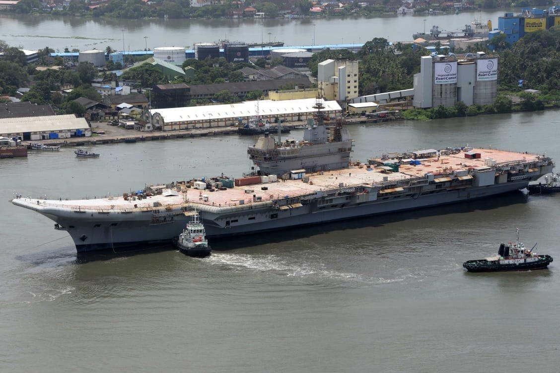 Ấn Độ thử nghiệm tàu sân bay thứ 2 để cạnh tranh với Trung Quốc - ảnh 1