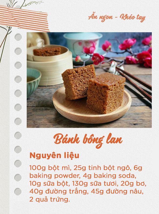 10 món bánh ngọt ngon quên sầu mà không cần lò nướng chị em nào cũng có thể làm