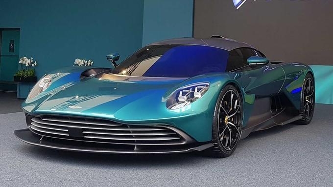 Valhalla – siêu xe 'xanh' đầu tiên của Aston Martin - ảnh 1
