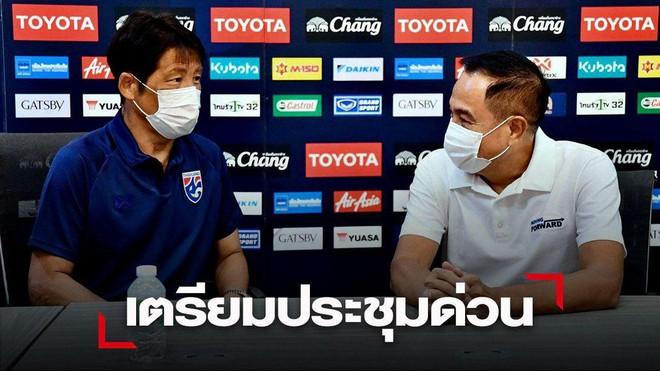Vừa vào khu cách ly, HLV Thái Lan đã bị truy tội - ảnh 1