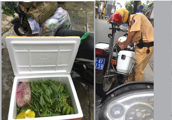 Vụ người đàn ông đi nhận thùng rau từ quê gửi lên: Vẫn giữ quyết định xử phạt theo Chỉ thị 16