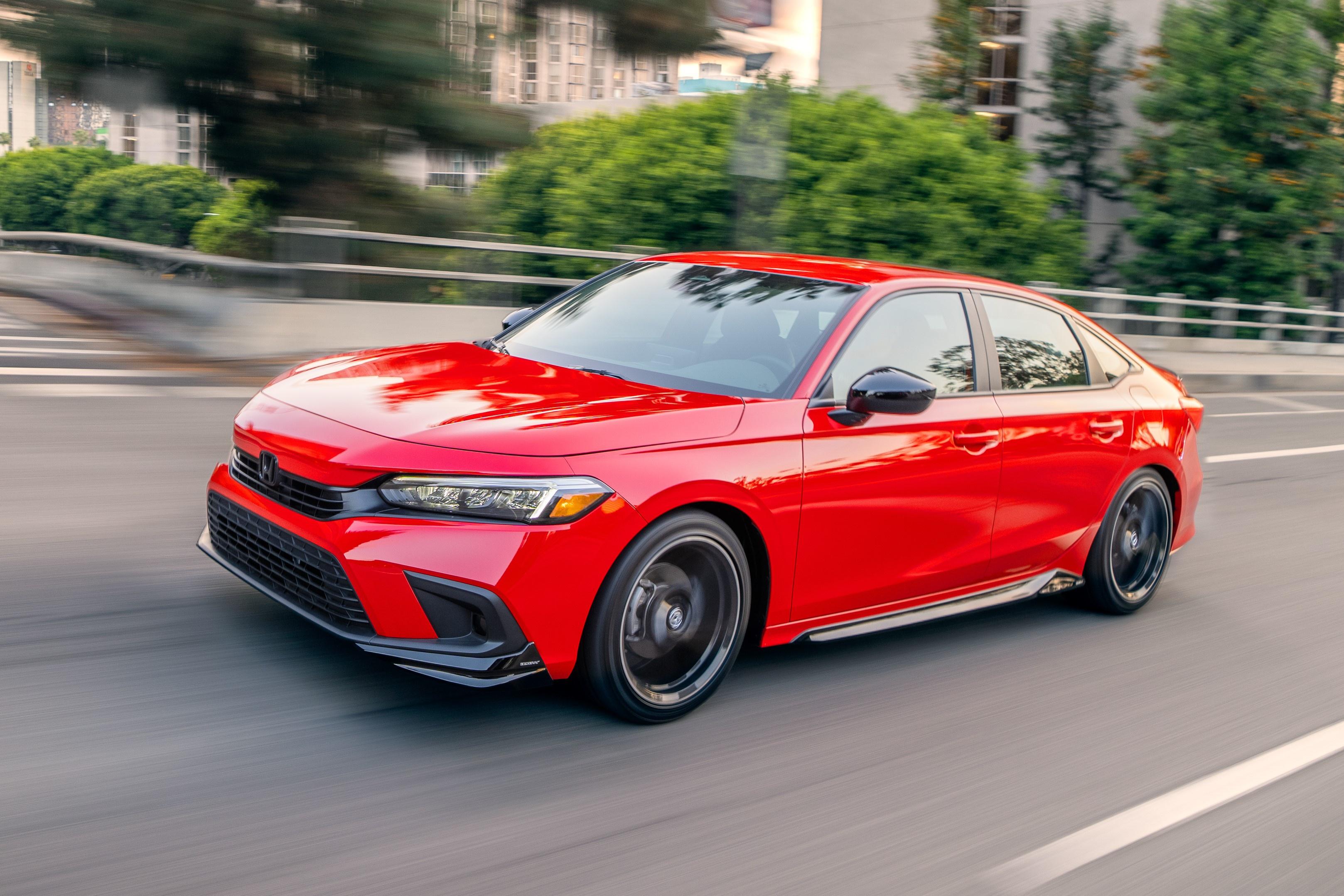 Honda Civic 2022 chuẩn bị được ra mắt tại Thái Lan - ảnh 1