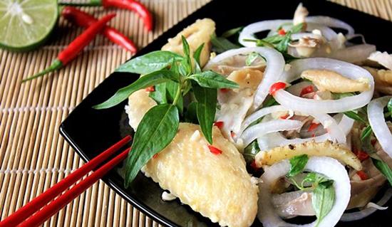 Salad gà dễ làm ngon cơm