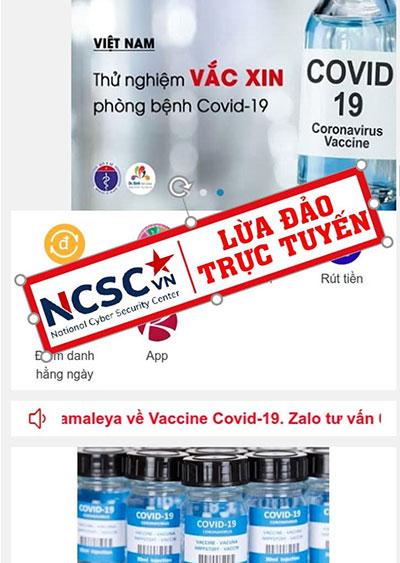 Cảnh báo các chiêu trò lợi dụng dịch COVID-19 để lừa đảo người dùng