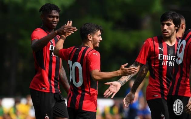 Tân binh ghi bàn, AC Milan hủy diệt Modena không thương tiếc - ảnh 1
