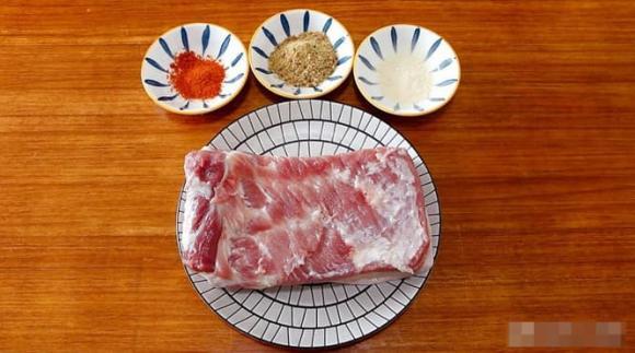 Ngày mát trời nhà mình rất thích ăn món thịt ba chỉ thế này, càng nhai càng giòn ngon - ảnh 1