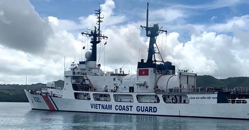 Tàu tuần duyên Mỹ chuyển giao cho Việt Nam cập cảng an toàn