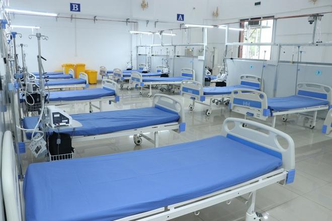 Long An: Thần tốc thi công Trung tâm hồi sức điều trị bệnh nhân Covid-19
