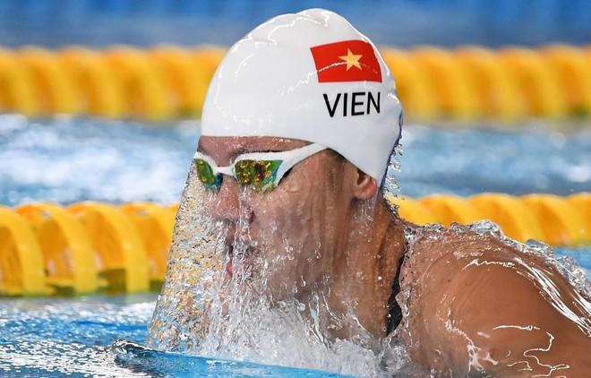 Ánh Viên tiếp tục thua chính mình ở Olympic Tokyo