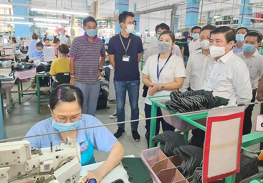TP. Hồ Chí Minh thực hiện 4 nhóm giải pháp hỗ trợ doanh nghiệp